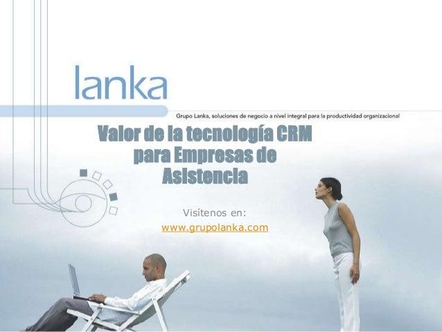 Software CRM Pivotal para empresas de Asistencia