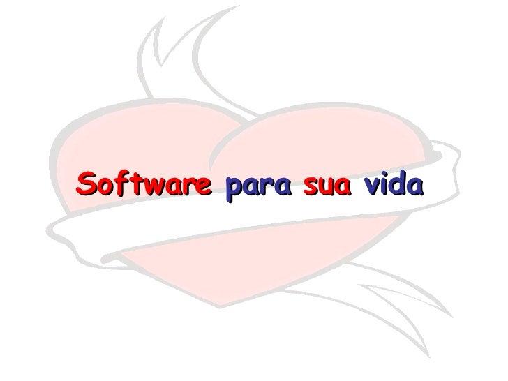 softwer do amor