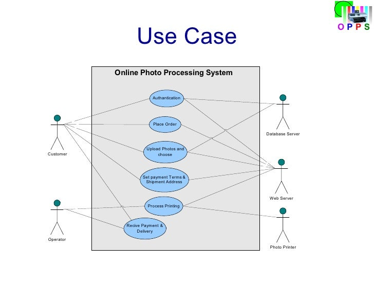 images of use case diagram for order processing system   diagramssoftware engineering presentation