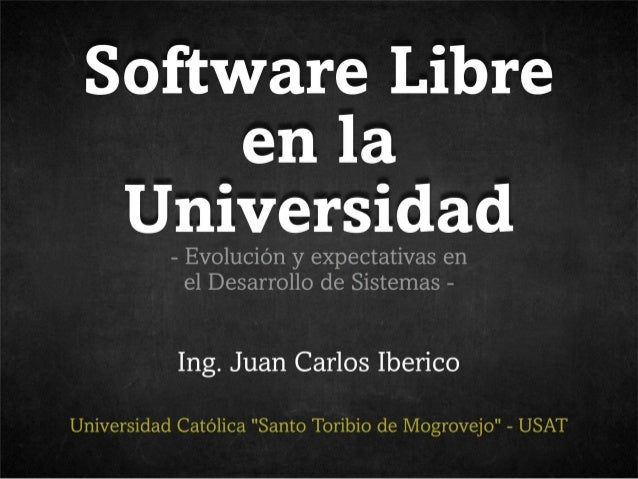 II Llampageek: Software Libre en la universidad