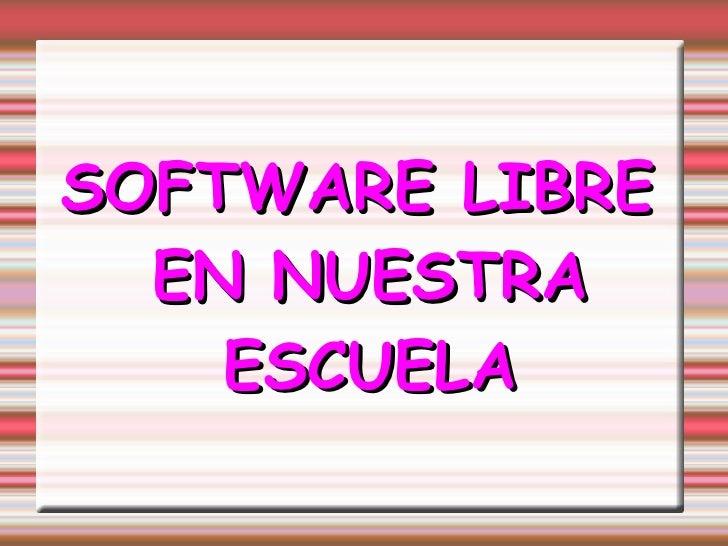 Software Lliure Presentació