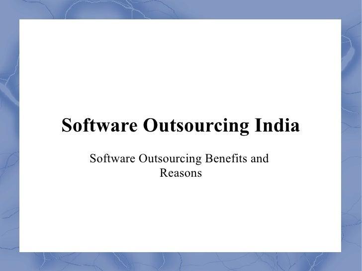 Software outsourcing-development