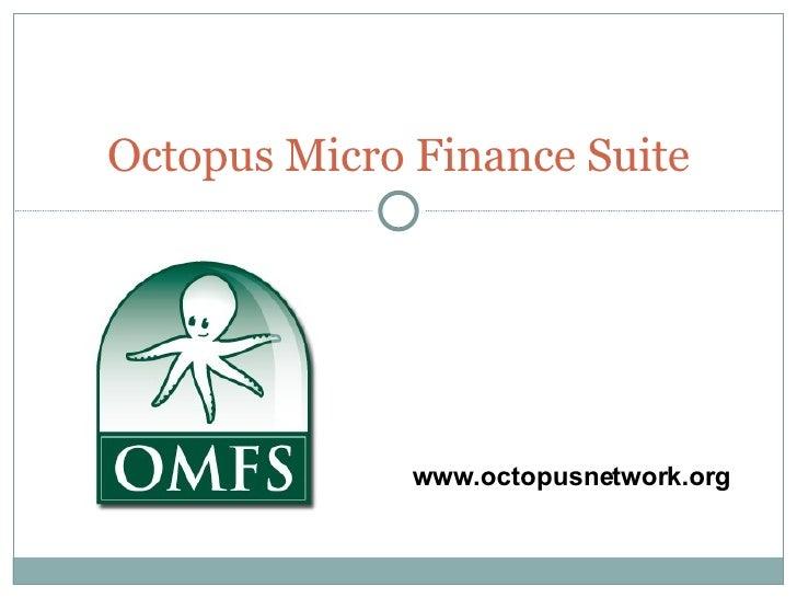 Octopus logiciel de microfinance open source