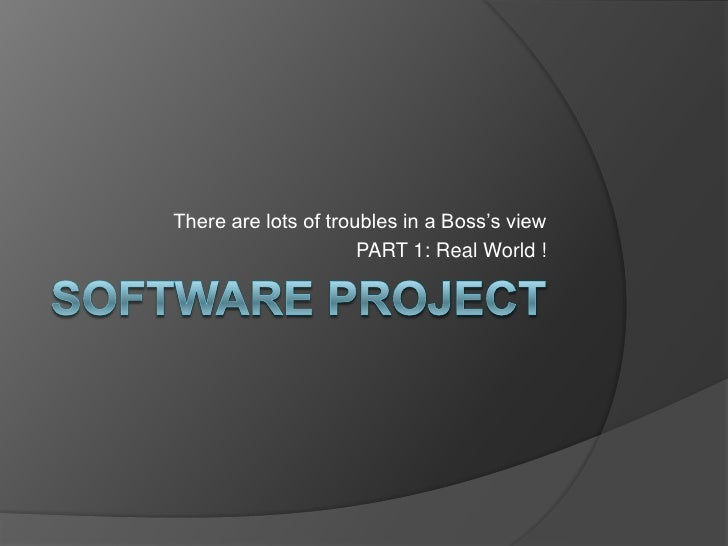 Software project-part1-realworld