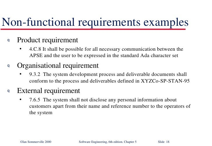 Software Requirements In Software Engineering Se5
