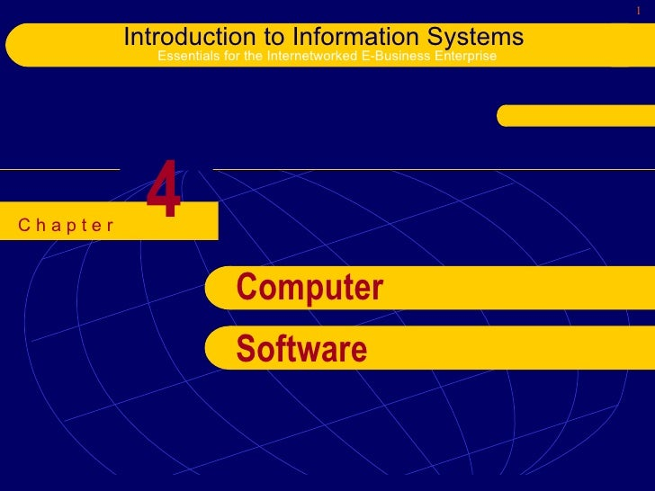 4 Computer Software