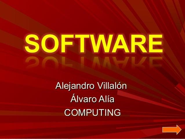 Alejandro Villalón Álvaro Alía COMPUTING