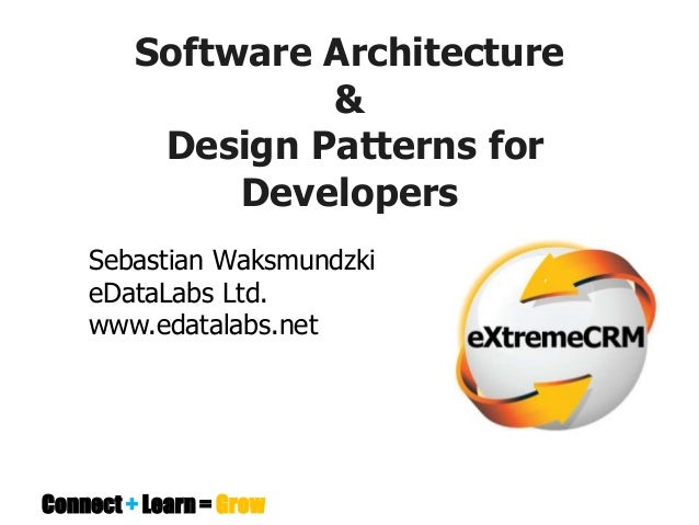 Pattern Architecture Software Software Architecture Design