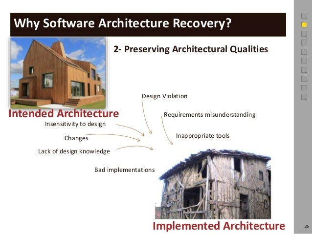 Software Architecture Recovery News