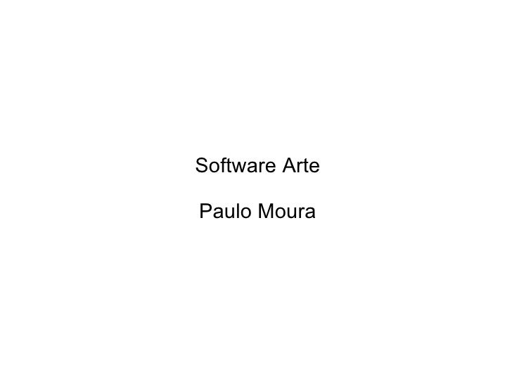 Software art