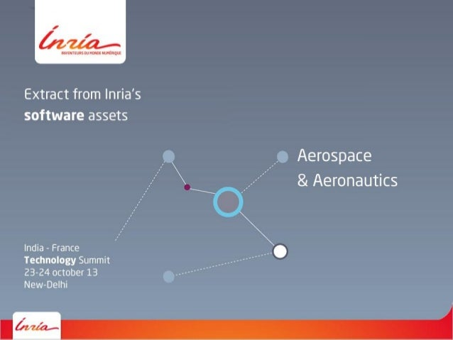 Inria - Software assets - Aerospace