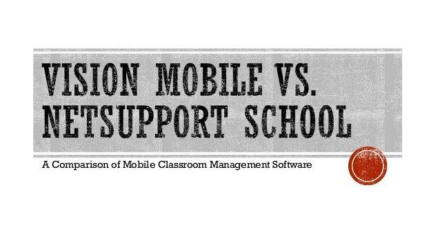 A Comparison of Mobile Classroom Management Software
