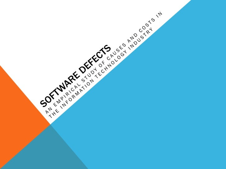 Software Defects