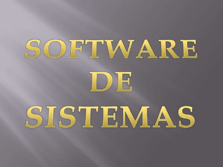 Software de sistemas (2)