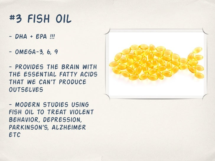 Can Fish Oil Make You Smarter