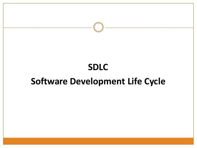 Software development life cycle   yazılım geliştirme yaşam döngüsü