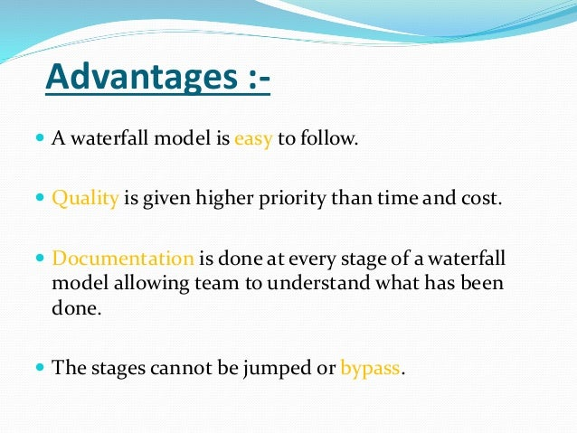 Agile with scrum methodology for Advantages and disadvantages of waterfall model