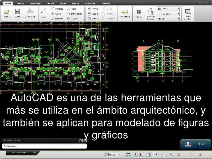 Software dibujo tecnico for Software de diseno arquitectonico