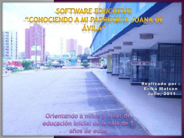 Software educativo   parroquia juana de avila