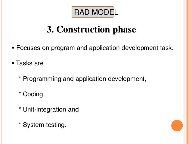 rad model Learn more about hokuapps' rapid application development model (rad) to create native-like and actionable mobile and web applications for enterprises rapid.