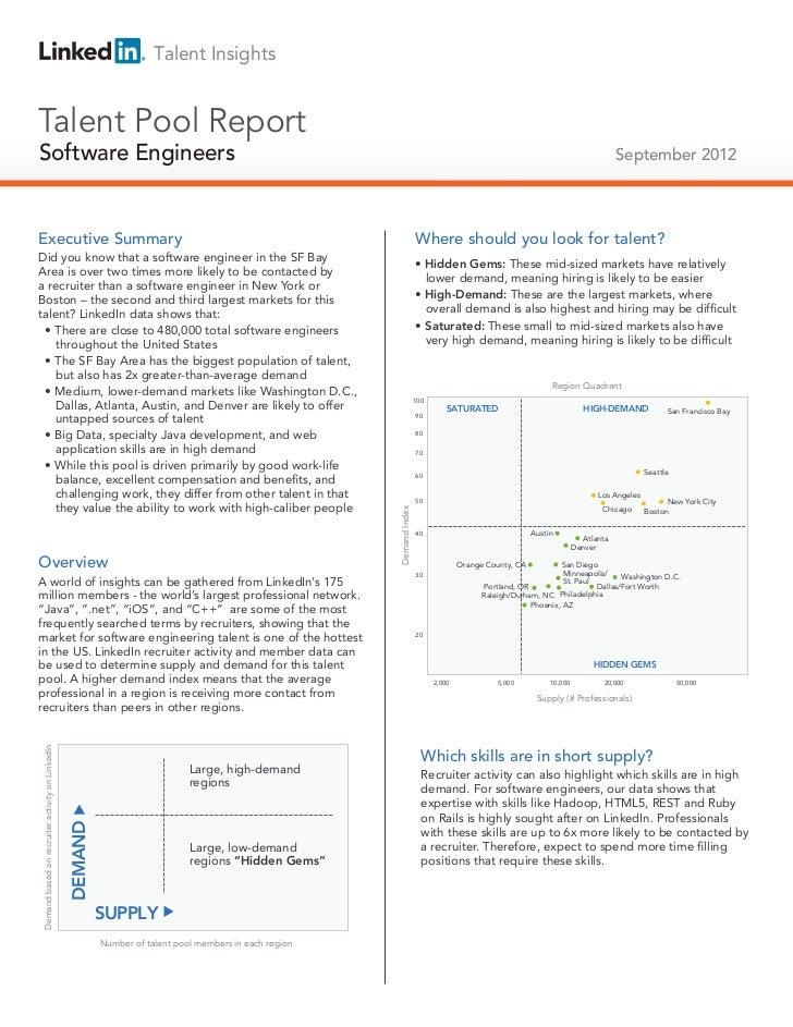 Talent InsightsTalent Pool ReportSoftware EngineersTechnical Salespeople                                                  ...
