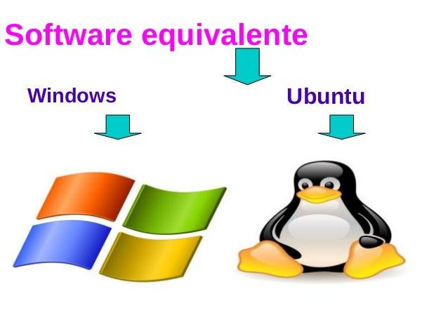 Software equivalente Windows Ubuntu