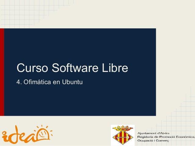 Software libre 4