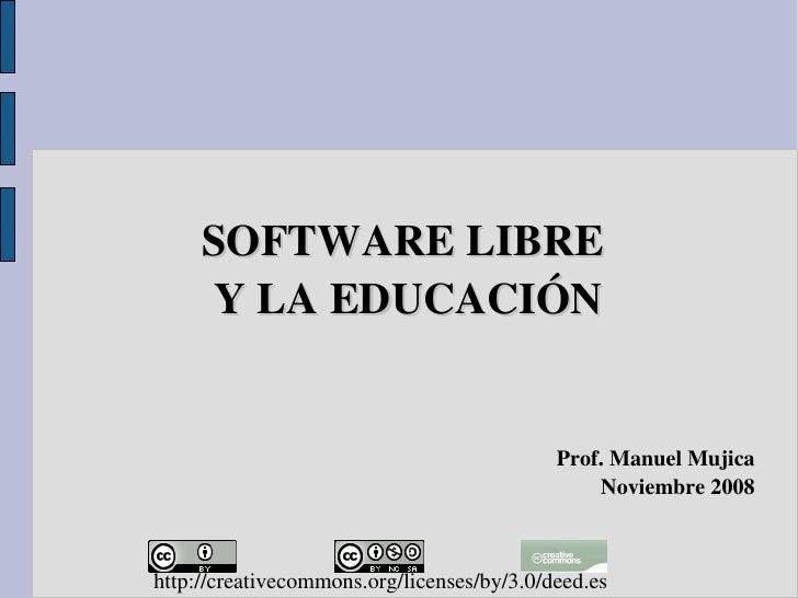 Software Libre y la Educación