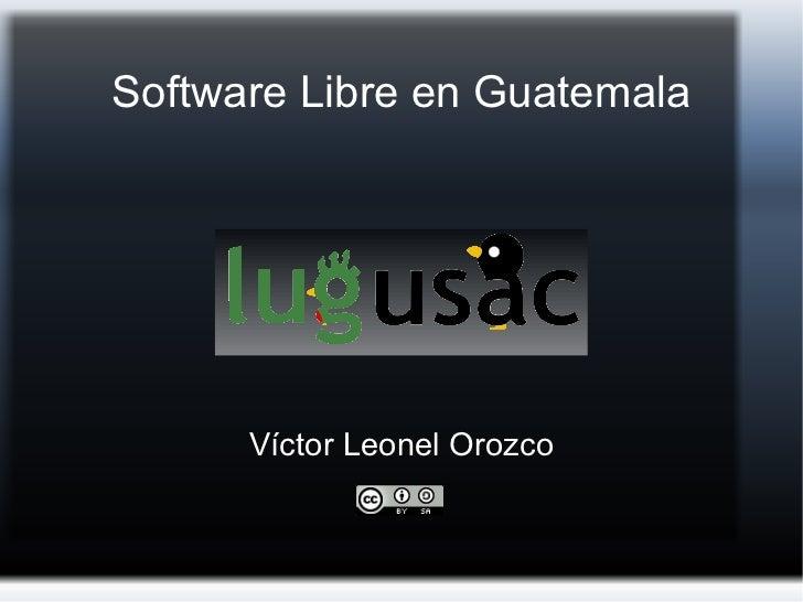 Software Libre en Guatemala