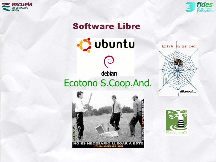 Software LibreEcotono S.Coop.And.