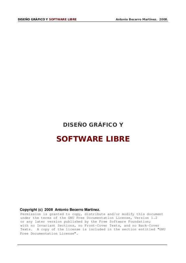 Software libre para el diseño gráfico