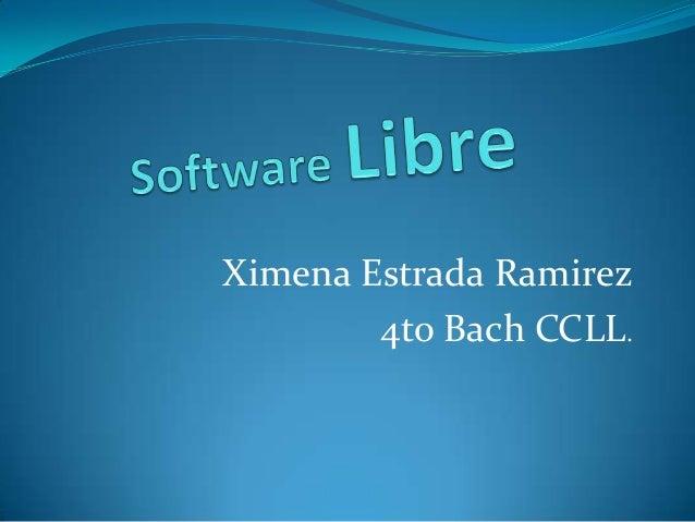 Software libreximena