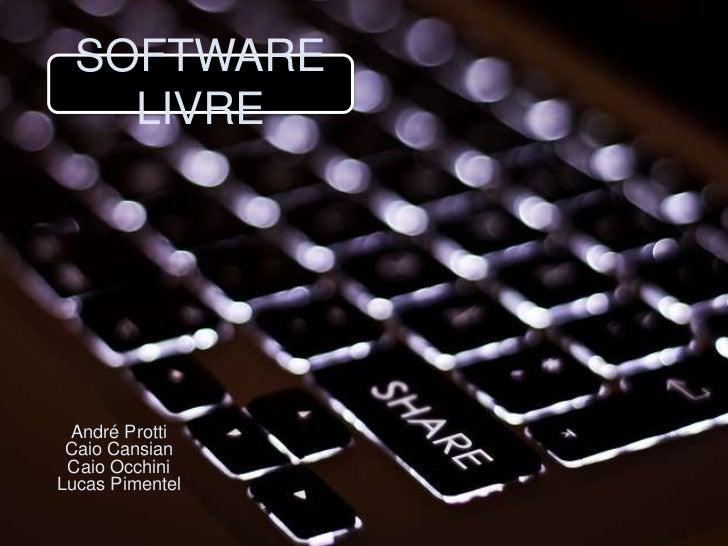 Software livre 1708