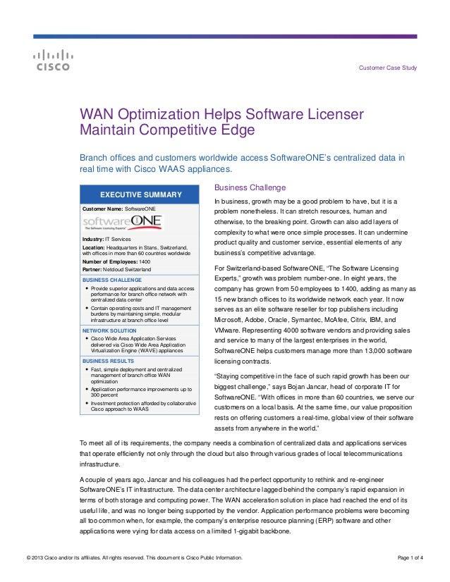 SoftwareONE case study