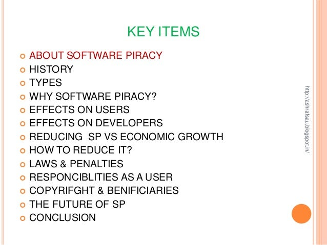 the impact of computer software piracy on the international economy Piracy impact study: the economic benefits of the greater the economic impact reducing software piracy by 10 the economic benefits of reducing software piracy 3.