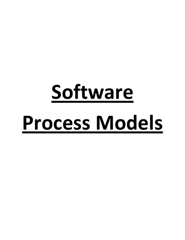 MODELS USED IN SOFTWARE DEVELOPMENT