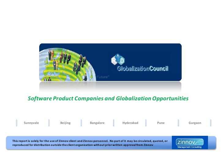 Software Product Companies and Globalization Opportunities