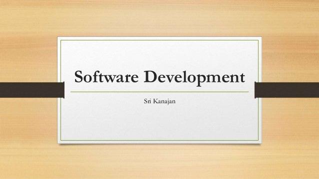 Software Development Sri Kanajan
