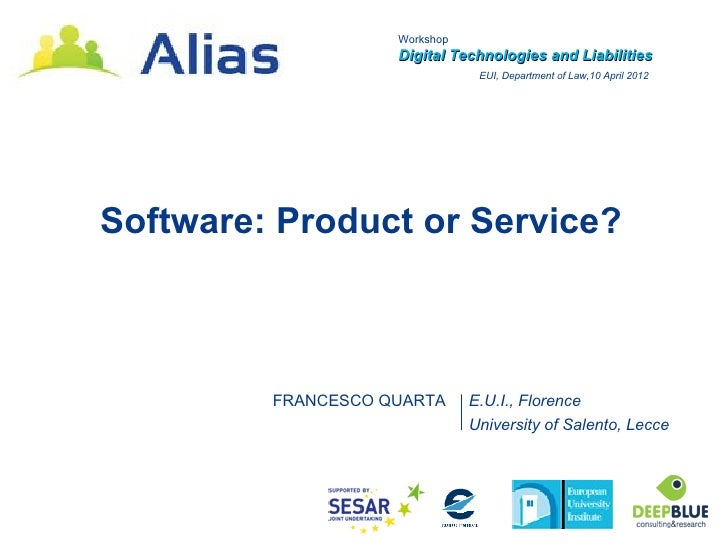 Software product or service