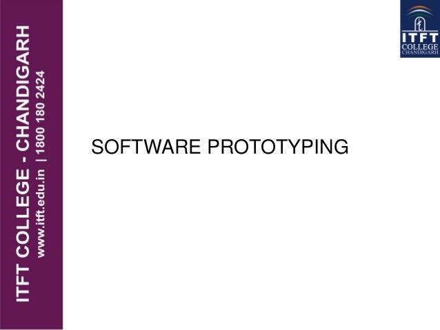ITFT -  Software prototyping