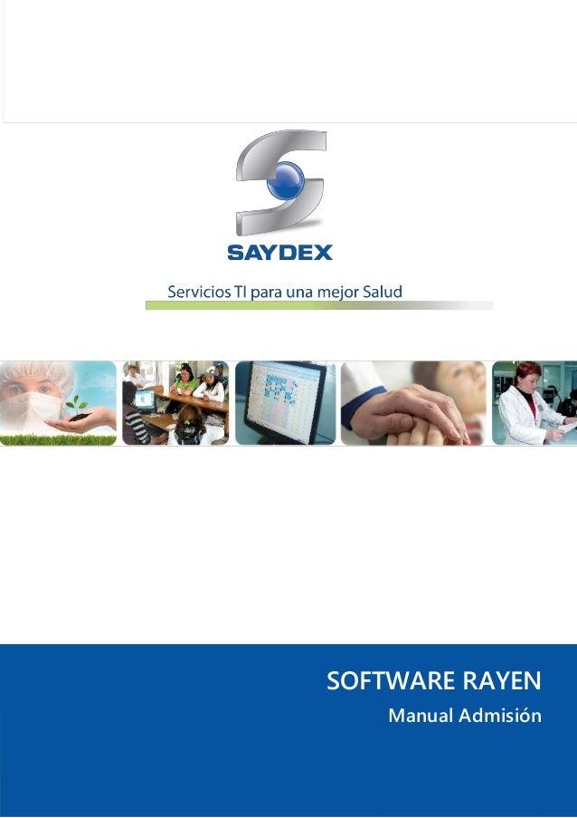 Software rayen   admisión