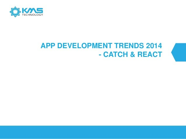 Software Technology Trends in 2013-2014