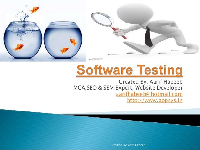Created By: Aarif Habeeb MCA,SEO & SEM Expert, Website Developer aarifhabeeb@hotmail.com http://www.appsys.in created By: ...
