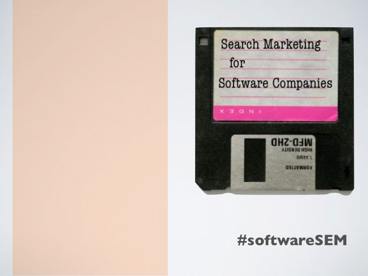 Search Marketing for Software Companies