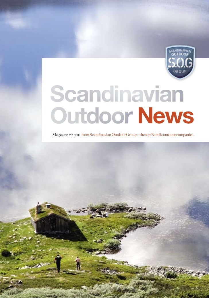 NewsMagazine #2 2011 from Scandinavian Outdoor Group – the top Nordic outdoor companies