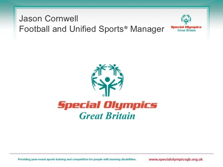Jason CornwellFootball and Unified Sports® Manager