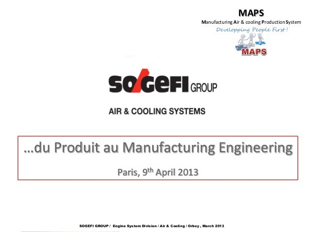 Sogefi : Du produit au lean engineering
