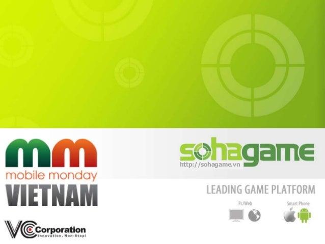 Mobile Monday 04/2013: Sohagame - Smartphone Era