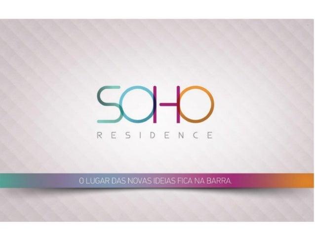 Soho residence- Barra da TIjuca-Apartamento de 1,2,3 quartos com suítes