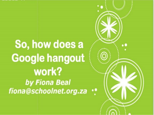 Google Hangouts are part of Google+, Googlesnew free social networking tool. On a Hangout10 people (possible 15 on Google ...